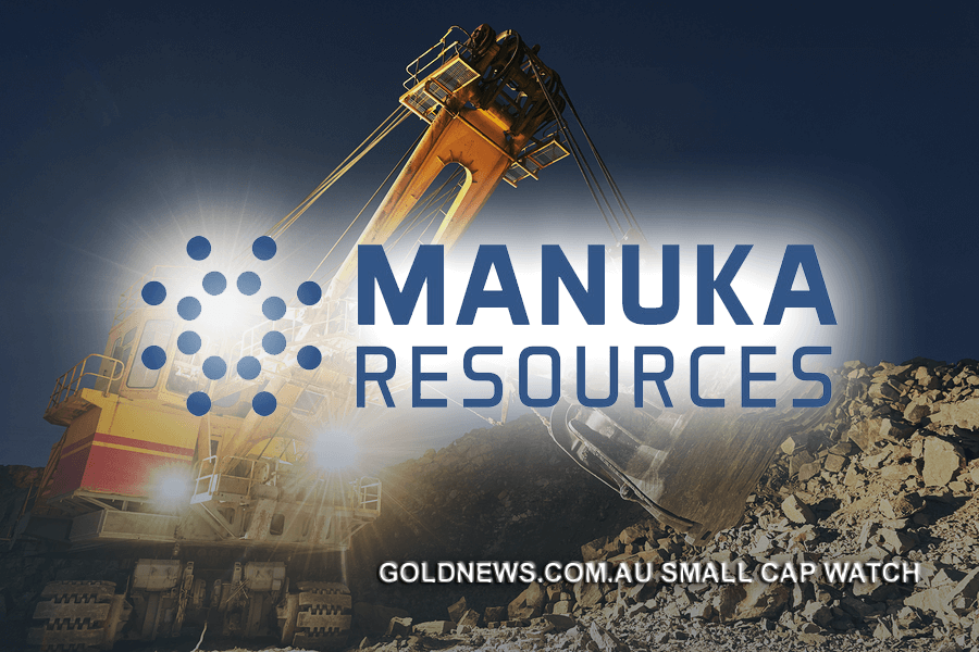 manuka resources gold mining australia small cap asx stock