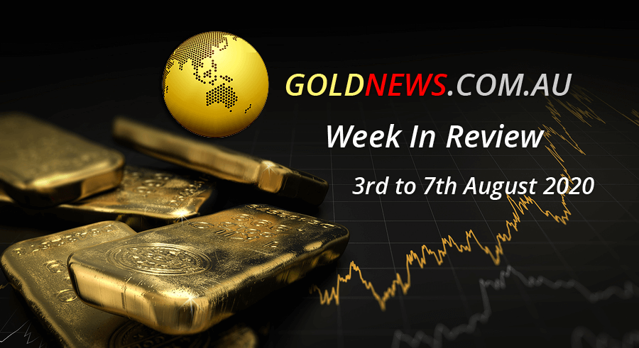 gold news week review 3rd 7th August 2020
